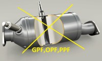 SUPPRESSION FILTRE A PARTICULES MOTEUR ESSENCE (GPF,OPF,PPF)